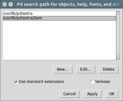 Pd search path for objects, help, fonts, and other files_004